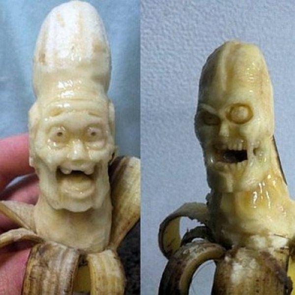 Резьба по банану