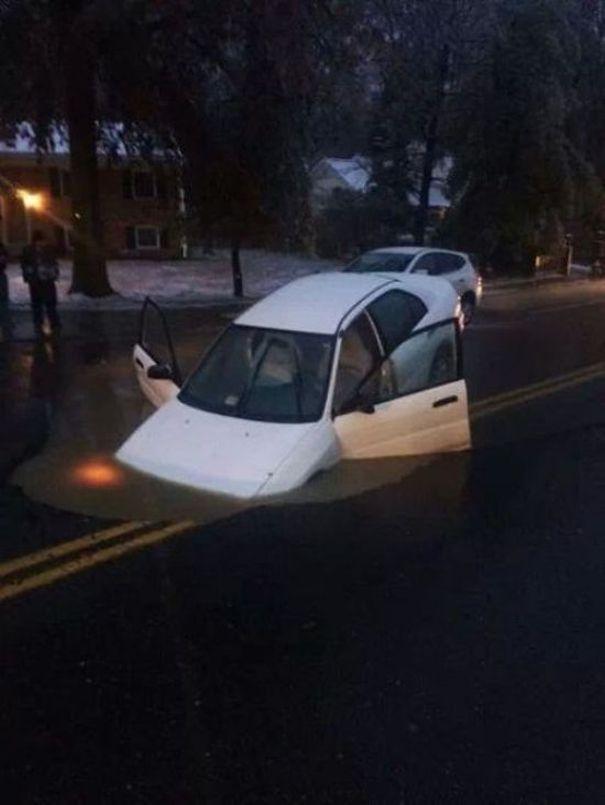 Nesvakidašnje automobilske nesreće (42 fotografije)