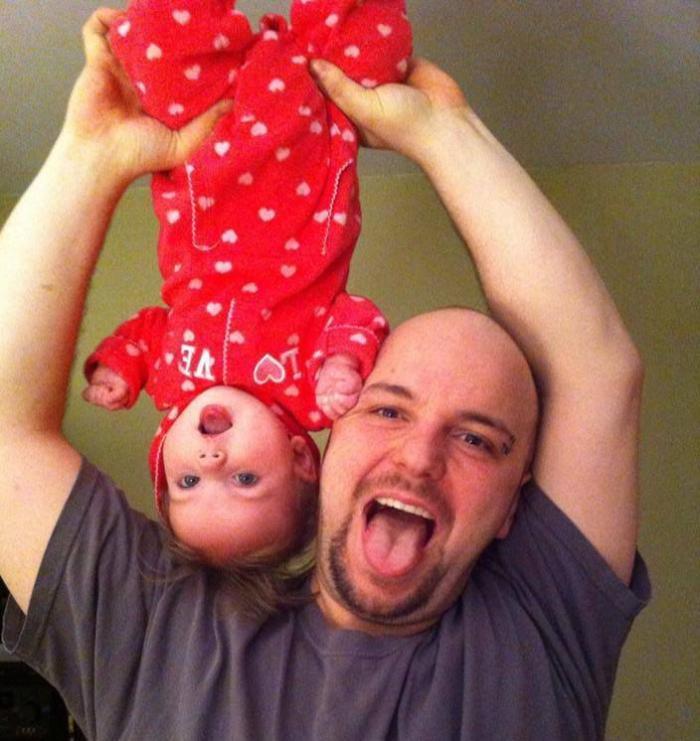 Očevi i kćeri (27 fotografija)