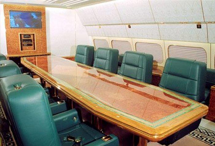 Интерьер самолета президента россии фото