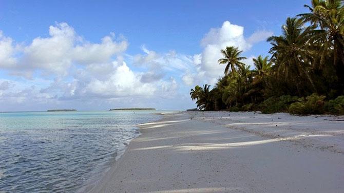 Путешествие на уединенный остров Палмерстон (14 фото)