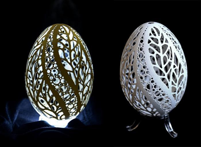 Узоры для резьбы по яичной скорлупе