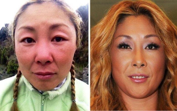 звезды россии без макияжа фото до и после