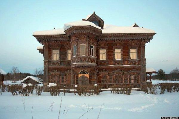 Русские заброшенные терема (18 фото)