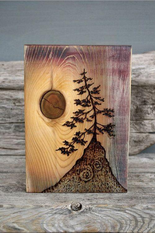 Predmeti od drveta (26 fotografija)