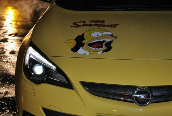 Opel Astra -The Simpsons (5 фото)