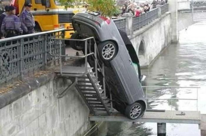 Nesvakidašnje nesreće (26 fotografija)