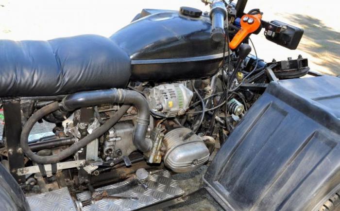 от мотоцикла Урал