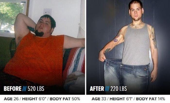 они похудели фото до и после
