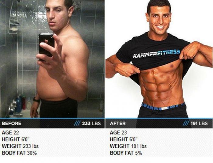 похудели до и после видео