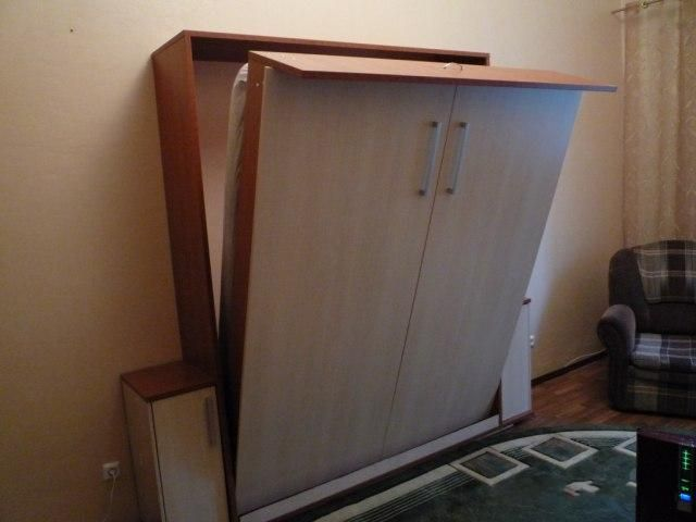 Кровать-шкаф своими руками фото