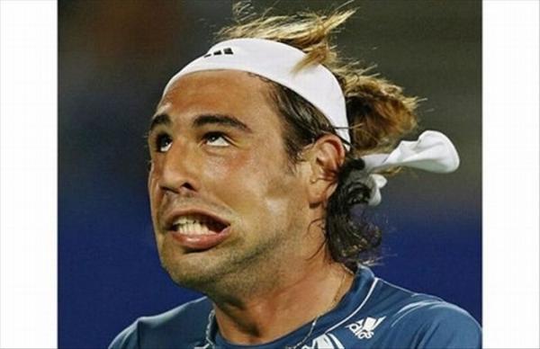 Самые смешные лица тенниса 20 фото