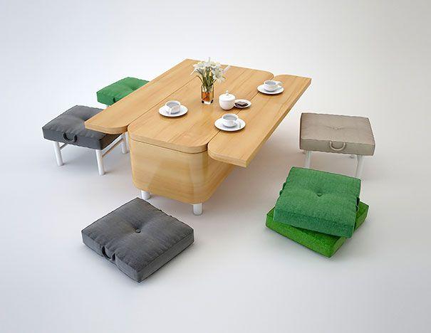 Pametan dizajn za mali stan (45 fotografija)