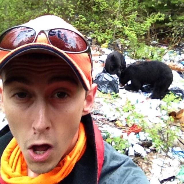 Новый тренд селфи с медведем 16 фото
