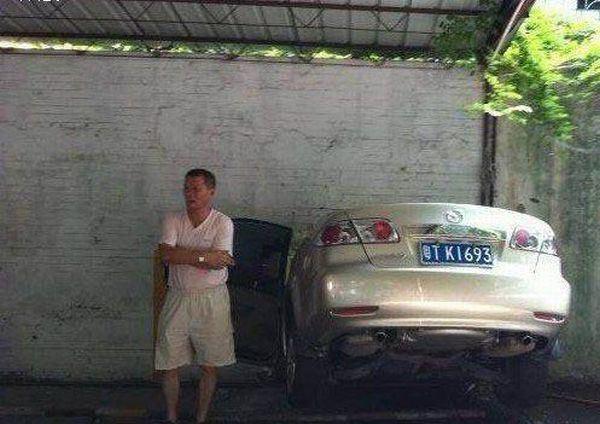 Жесткая парковка 7 фото