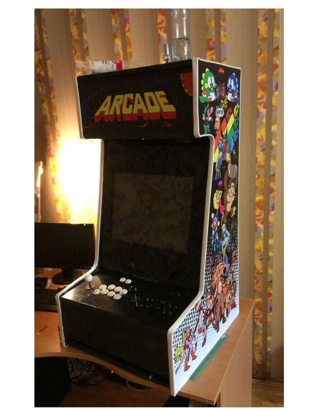 Как сделать игровой автомат: мастер-класс от «Королевы 85