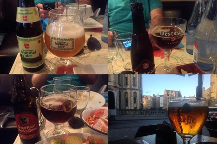 Бельгия – рай для любителей пива (10 фото)