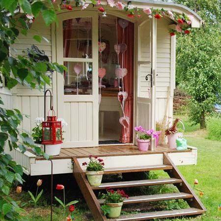Дачные и садовые домики своими руками i