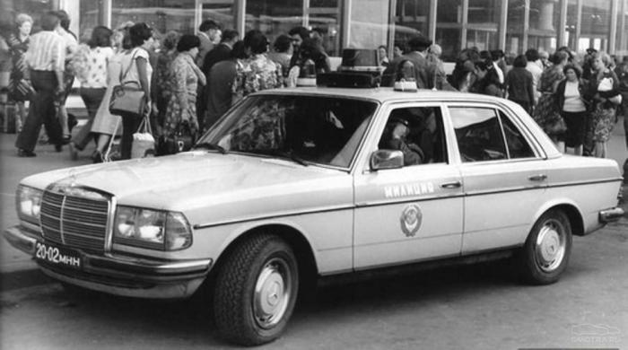 Элитные иномарки на службе милиции СССР (12 фото)