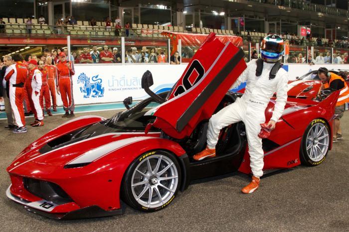 Самый мощный суперкар от Ferrari - FXX K (19 фото + 1 видео)