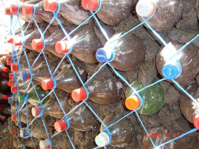 Постройки из бутылок своими руками для детского сада