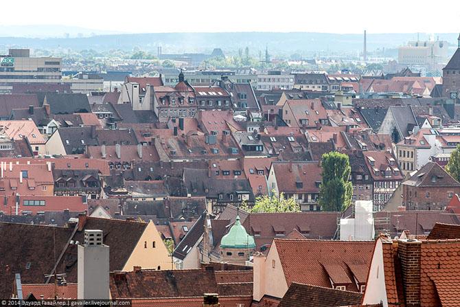 Нюрнберг – основа Средней Франконии (25 фото)
