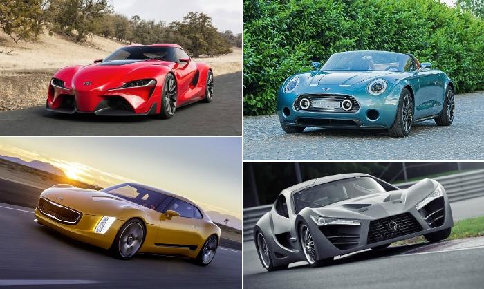 10 лучших спортивных концепт-каров 2014 года (13 фото)