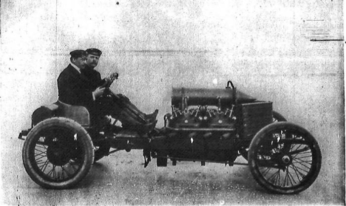 Огнедышащий Darracq 1905 года (21 фото + 3 видео)