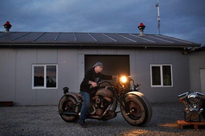Уникальный мотоцикл  (31 фото)