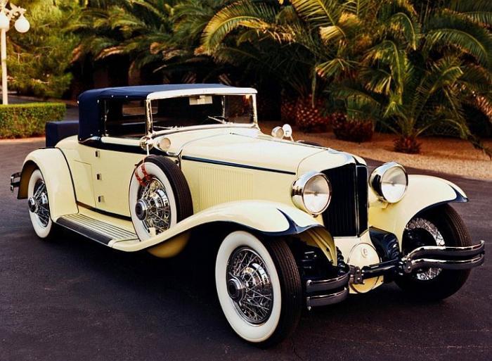 Эта статья посвящёна прекрасным ретро автомобилям.