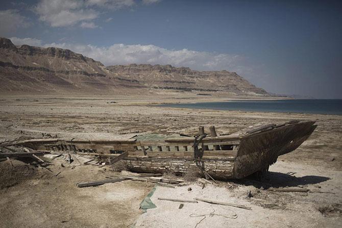 Мертвое море в Израиле — один из первых в мире курортов