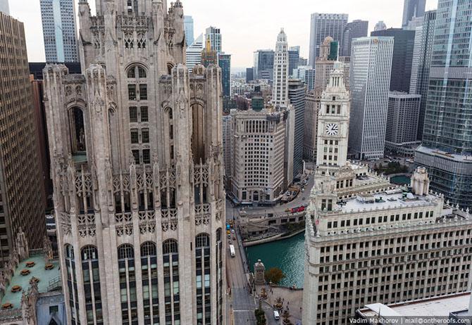 Чикаго с высоты (20 фото)