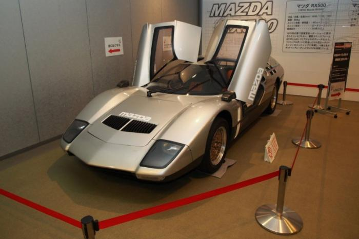 Концепт-кар Mazda RX500 (6 фото)