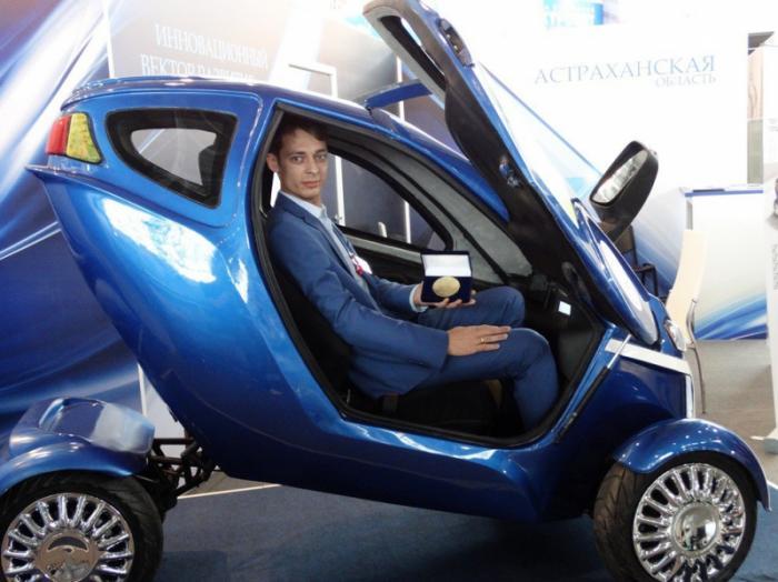 Отечественном электромобиле