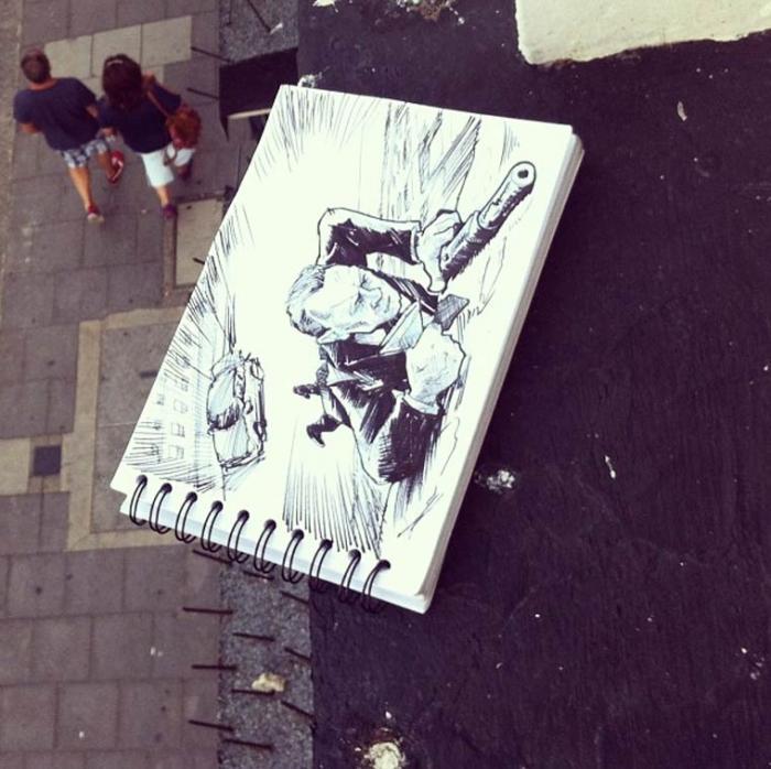 Французский иллюстратор и арт-директор, живущий в Амстердаме,