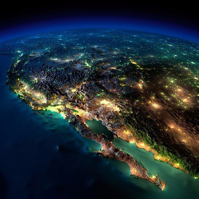 Захватывающий вид на Землю из космоса (10 фото)