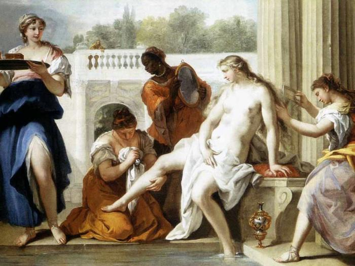 древние римлянки голышом фото