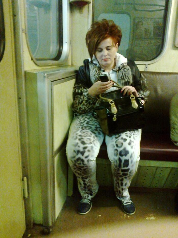 Модники и модницы метро (32 фото)