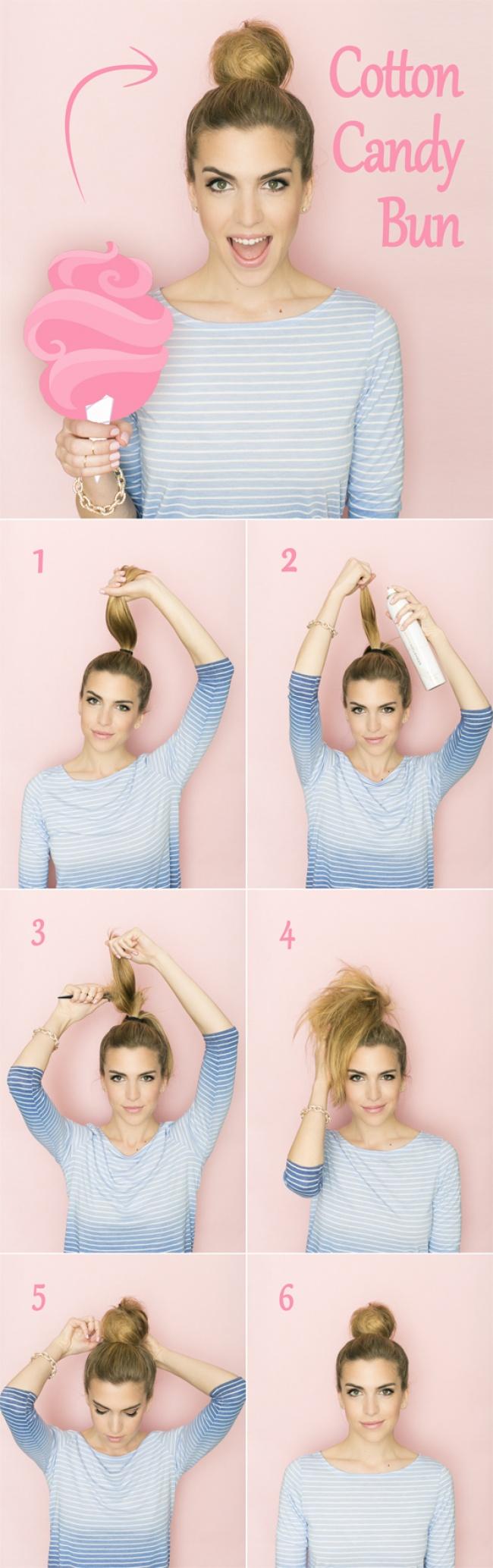 Как сделать прическу на лето если длинные волосы