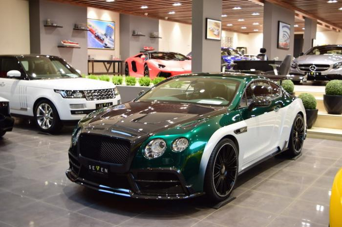 Bentley Continental GT Race от ателье Mansory (11 фото)