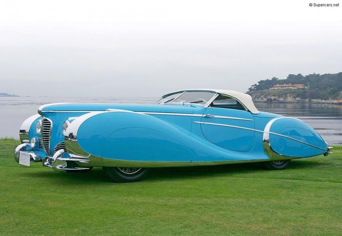 Delahaye - najljepši automobili (fotografija 17)