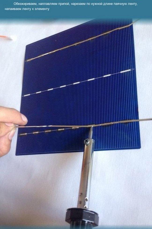 Солнечные батареи как собрать своими руками