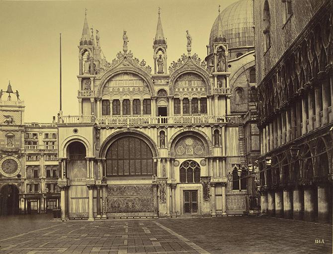 Венеция 1860-1870-х Карло Найя и Карло Понти (45 фото)