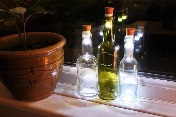 22 способа превратить бутылку в произведение искусства (22 фото)