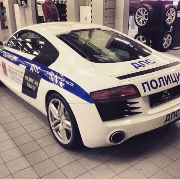 � ������� �����-���������� �������� �������� Audi R8 (3 ����)