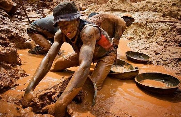 Как добывают золото самому