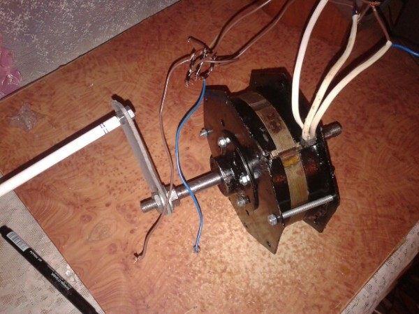 Ветряной генератор своими руками 12 вольт