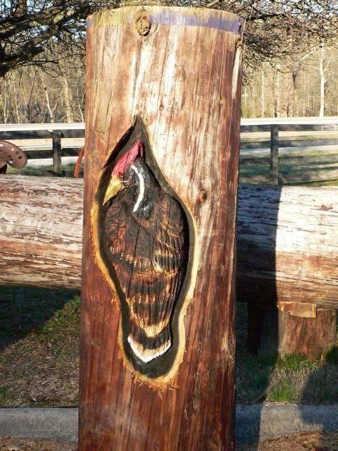 Фото резные поделки из дерева