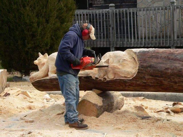 Деревянные скульптуры своими руками фото 37