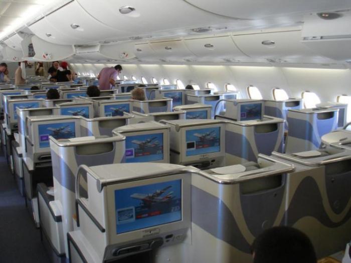 Самолет в Эмираты (41 фото)
